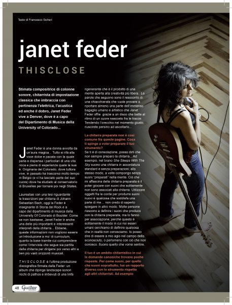 Guitarclub Magazine Janet Feder-1